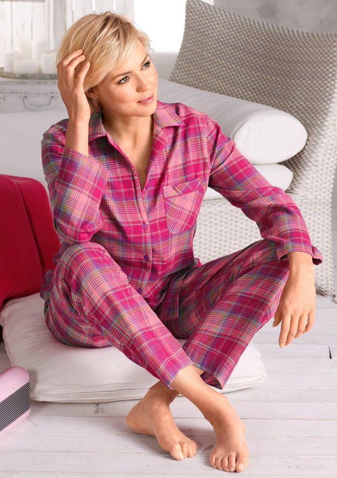 Pyjama, Rosalie in pink-kariert