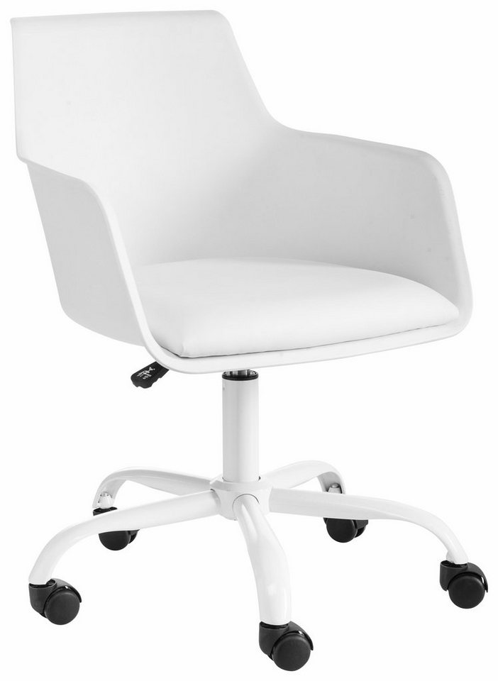 Bürostuhl weiß  Bürostuhl »Lonny«, mit gepolstertem Sitz kaufen | OTTO