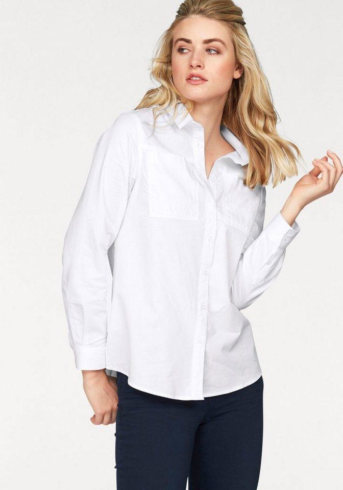 Colorado Denim Longbluse »Myriell« im Casual-Look mit Brusttaschen in weiß