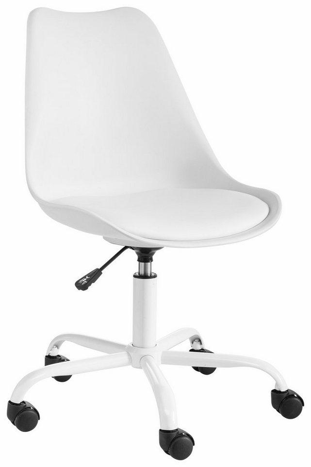 Bürostühle - Bürostuhl »Donny«, mit gepolstertem Sitz » weiß  - Onlineshop OTTO