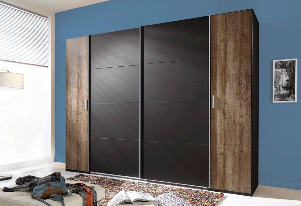 wimex kleiderschrank mit dreh und schwebet renschrank. Black Bedroom Furniture Sets. Home Design Ideas