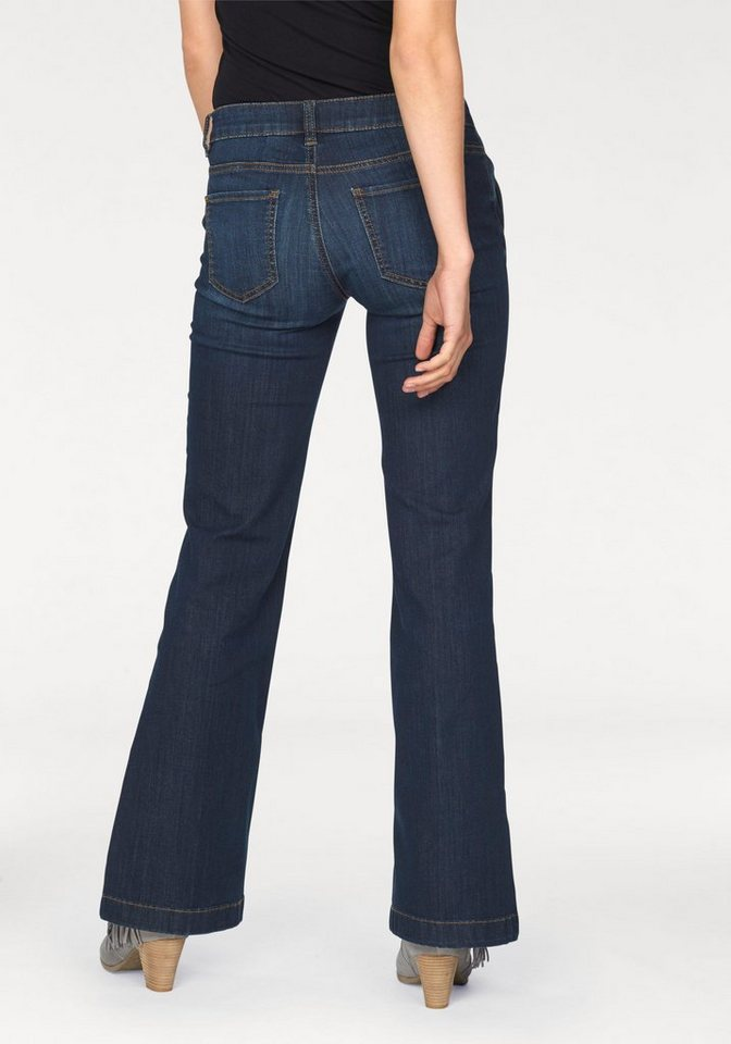 Tom Tailor Schlagjeans »Alexa« in blue