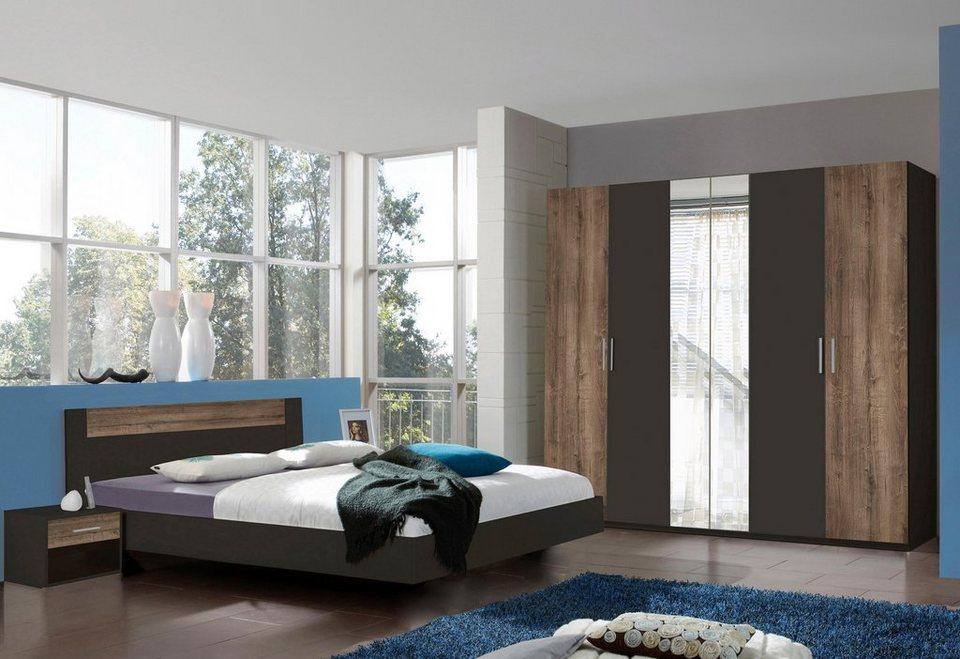 Wimex Schlafzimmer Set Ilona 4 Teilig Bett In Eleganter Schwebeoptik Online Kaufen Otto