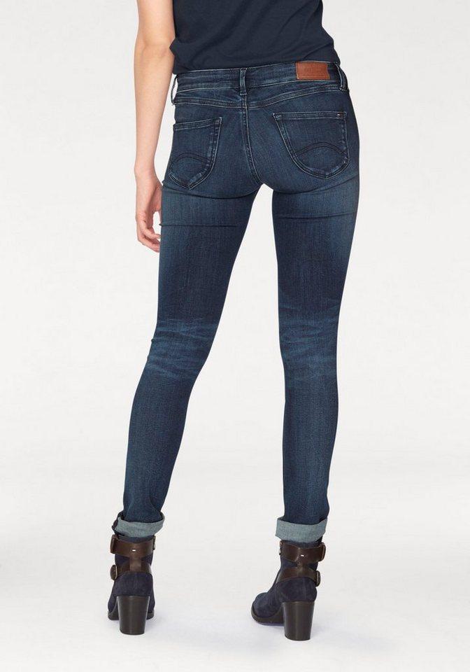Hilfiger Denim Skinny-fit-Jeans »Sophie« mit Destroyed Effekten in deep-blue