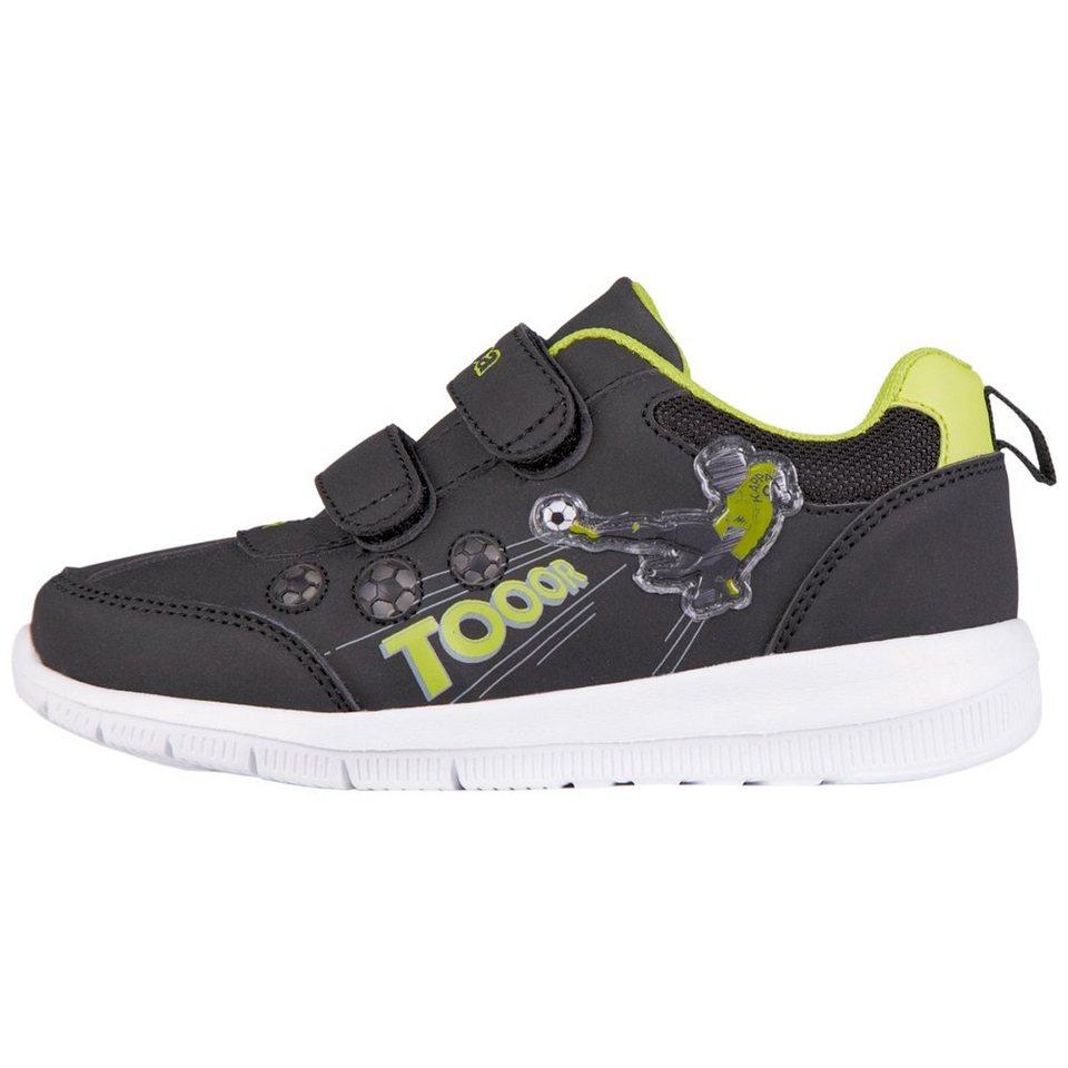 KAPPA Sneaker »CALCIO KIDS« in black/lime