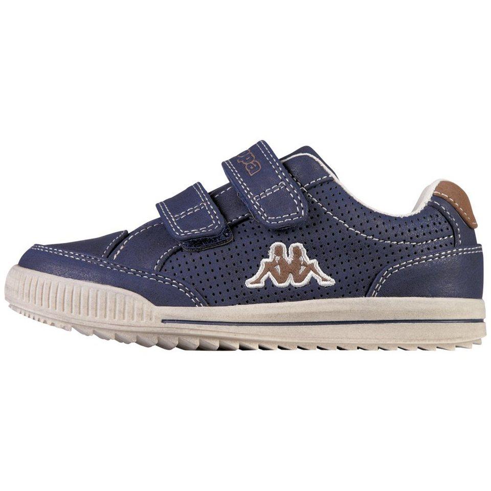 KAPPA Sneaker »BRONCO KIDS« in navy/brown