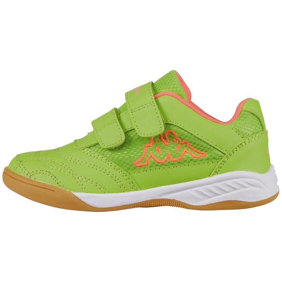 KAPPA Sportschuh »KICKOFF KIDS« in green/fr.pink