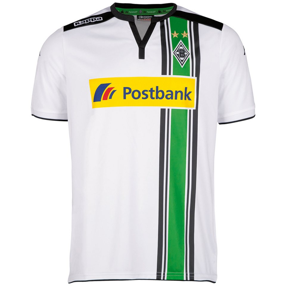 KAPPA Trikot »Borussia Mönchengladbach Heimtrikot 15-16« in white