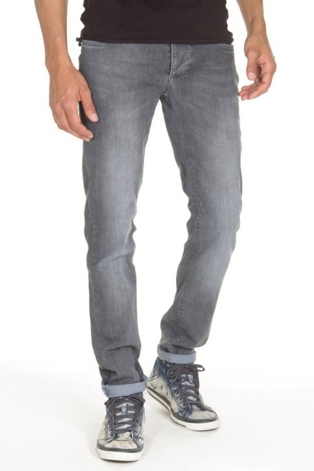 Bright Jeans Jeans Slim Fit in dunkelgrau
