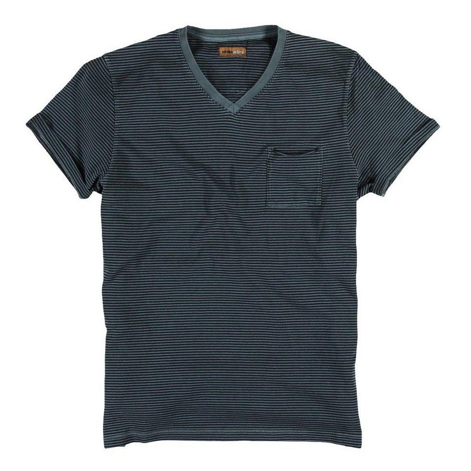 emilio adani T-Shirt in Stahlgrau
