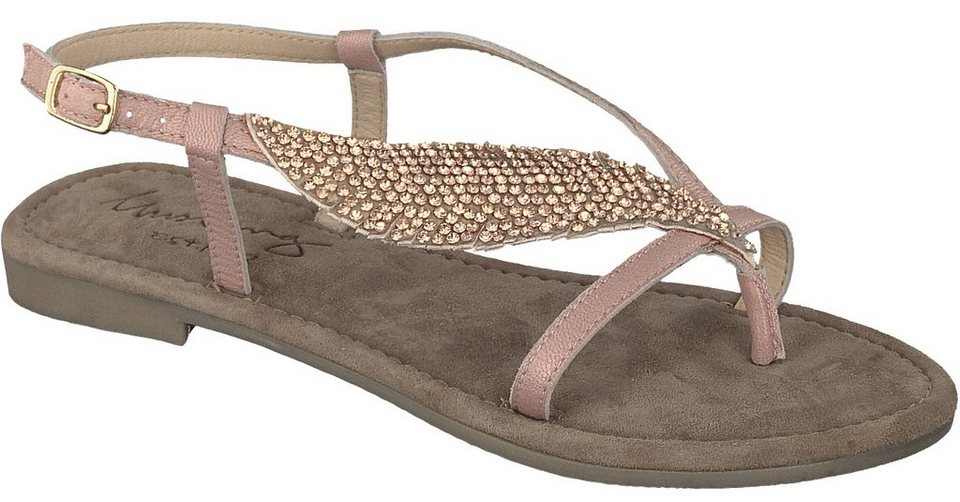 MUSTANG SHOES Sandale in rose