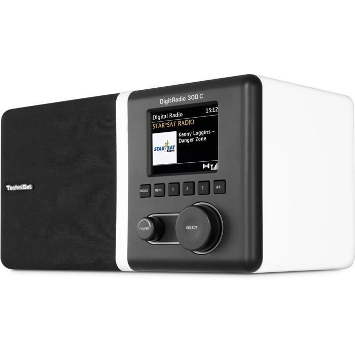 TechniSat DAB+/UKW Radio »DigitRadio 300 C« in weiß