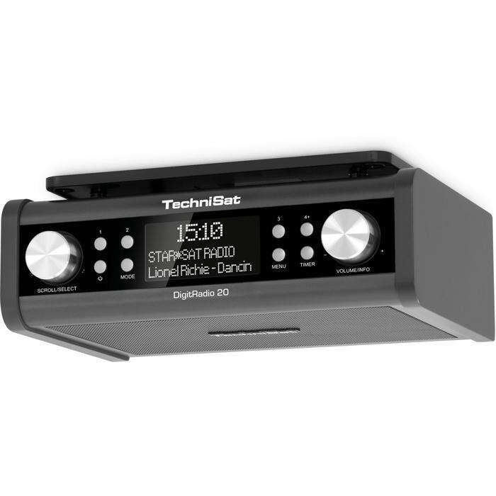 TechniSat DAB+ und UKW Uhrenradio »DigitRadio 20«