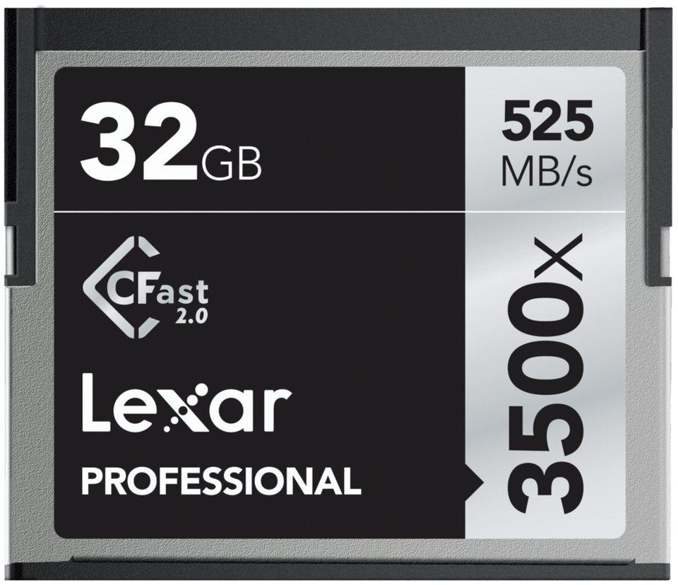 Lexar Speicherkarten »CFast 2.0 32GB 3500x Professional«