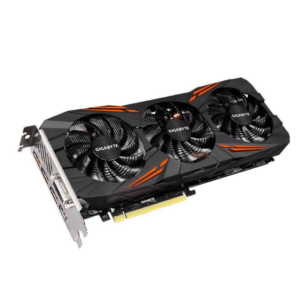 GIGABYTE Grafikkarte NVIDIA GeForce® GTX 1070 G1 Gaming »GV-N1070G1 Gaming-8GD 8GB«