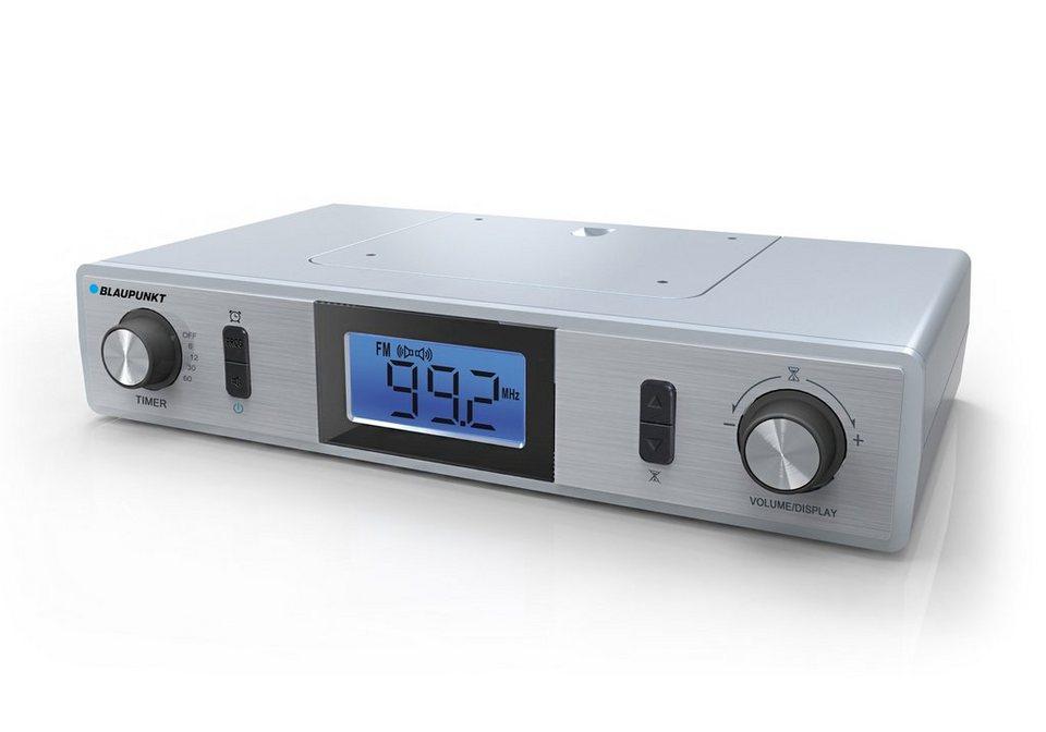 Blaupunkt Küchenradio mit UKW Radio & 2 Back-Timer »KR-10« in silber