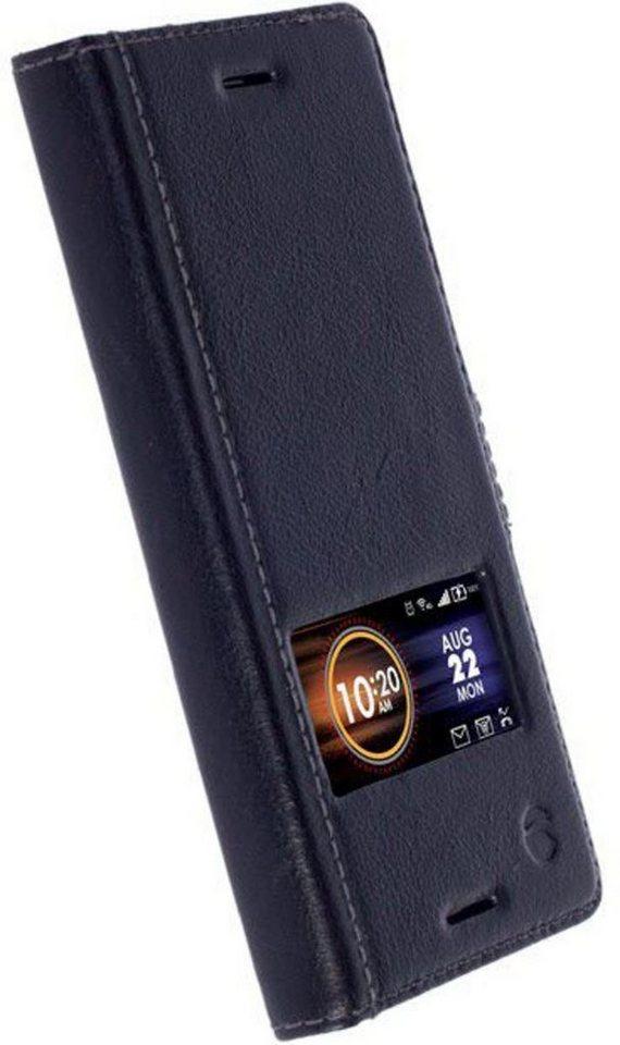 Krusell Handytasche »SmartCase Sigtuna für Sony Xperia X« in Schwarz
