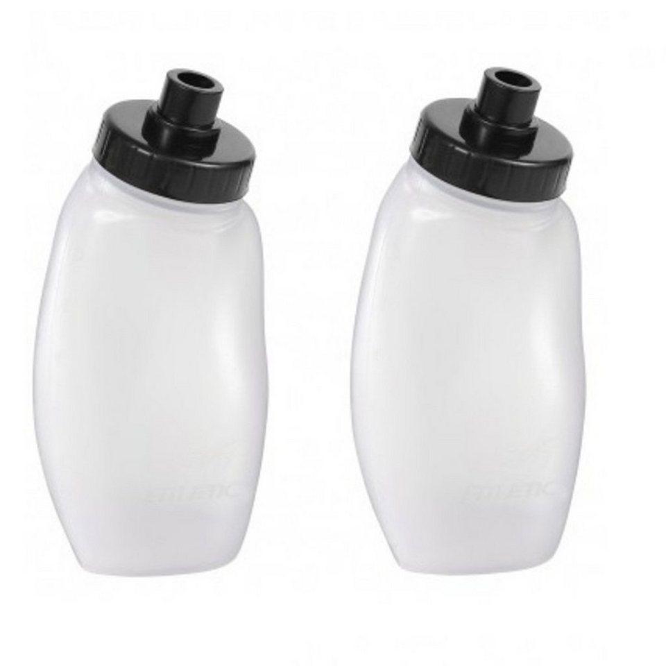 Fitletic Trinkflasche »Ersatztrinkflasche (2 x 175ml Set)« in Transparent-Schwarz