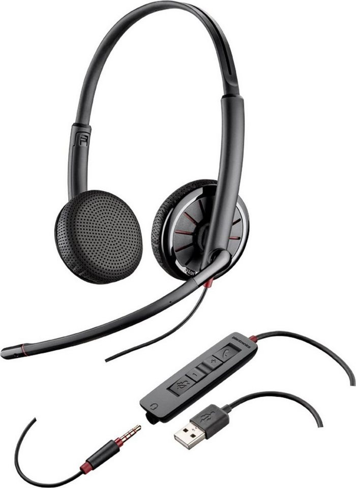 Plantronics Headset »Blackwire USB C325.1 monaural (UC)« in Anthrazit
