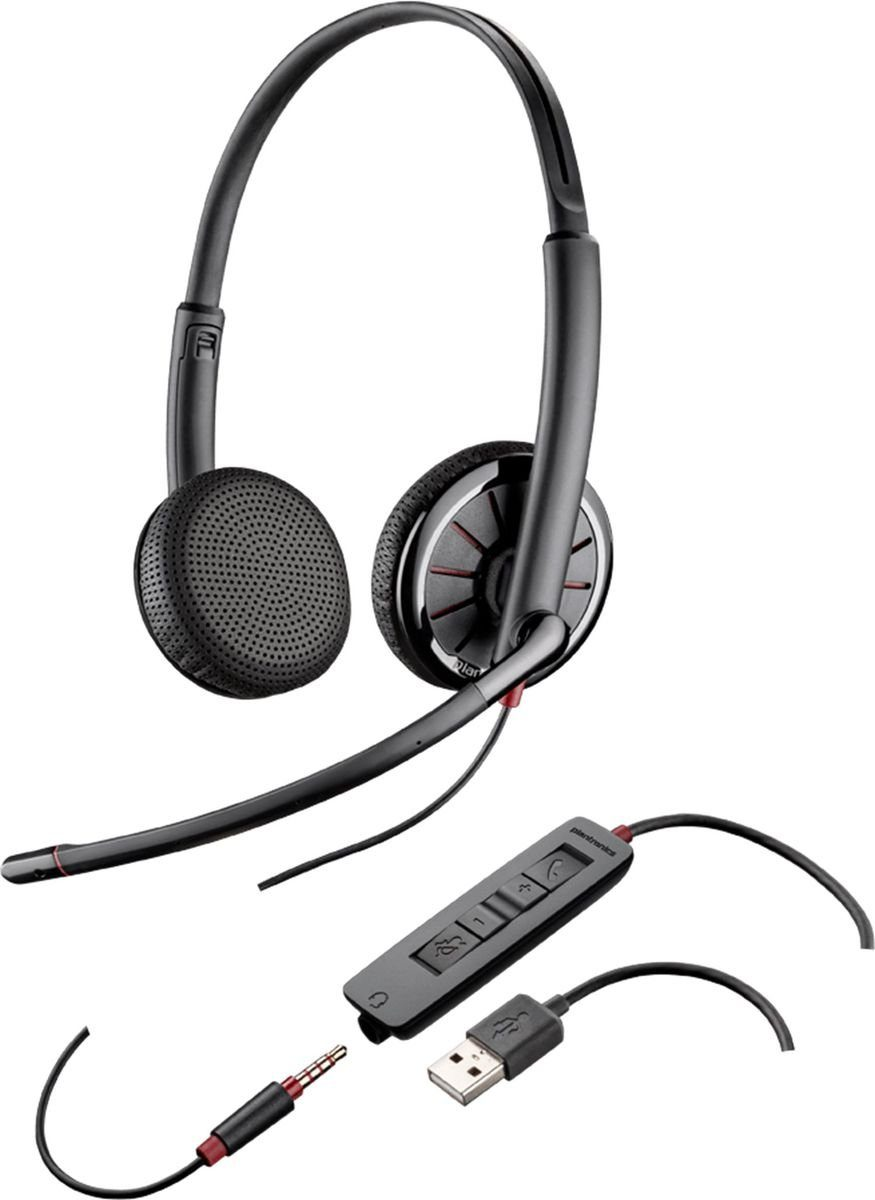 Plantronics Headset »Blackwire USB C325.1 monaural (UC)«