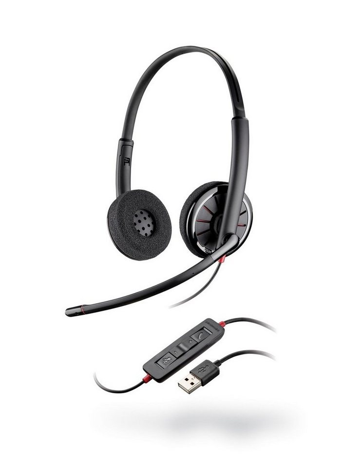 Plantronics Headset »Headset Blackwire USB C320 binaural« in Anthrazit