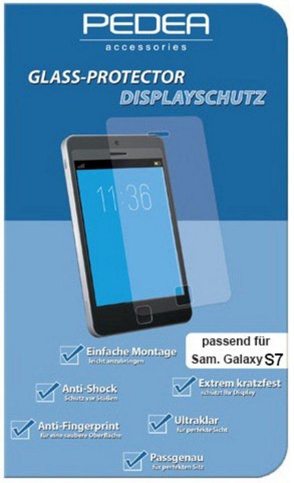 PEDEA Folie »Glasschutzfolie für Samsung Galaxy S7« in Transparent