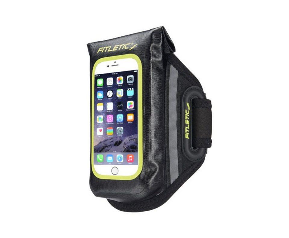 Fitletic Smartphone Armtasche »wasserdicht - Größe S/M« in Schwarz