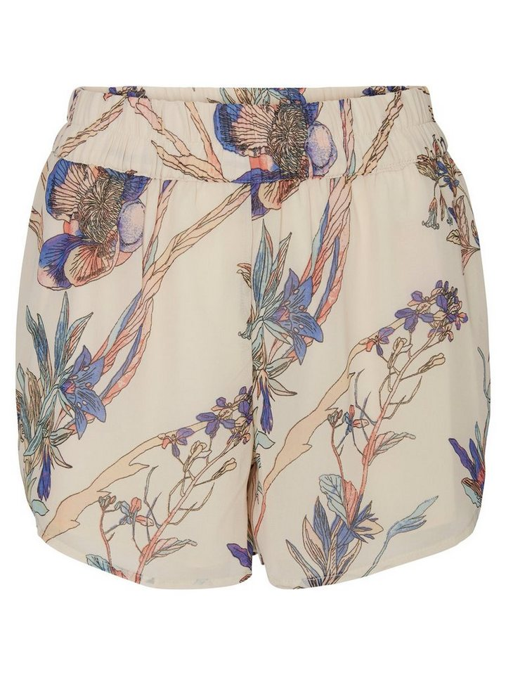 Vero Moda Flower HW Shorts in Pink Tint