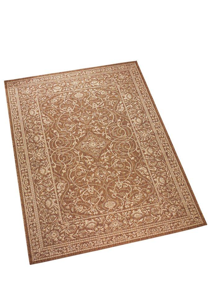 Teppich in hellbraun