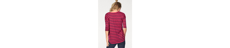 AJC Oversize-Shirt, mit Streifen