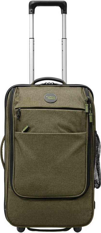 MaxRelax by Stratic Rucksack Trolley mit 2 Rollen, »Whale Wheeler« in khaki