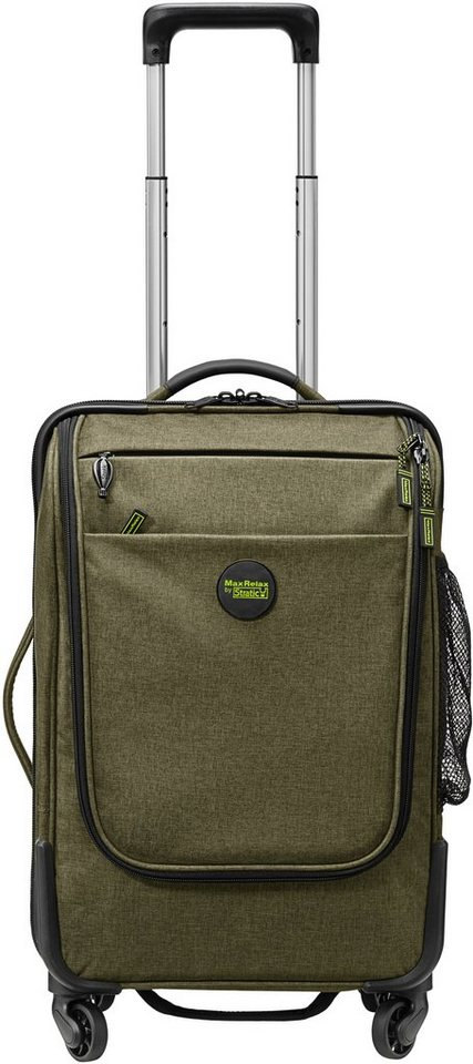 MaxRelax by Stratic Trolley mit 4 Rollen, »Whale Mover« in khaki