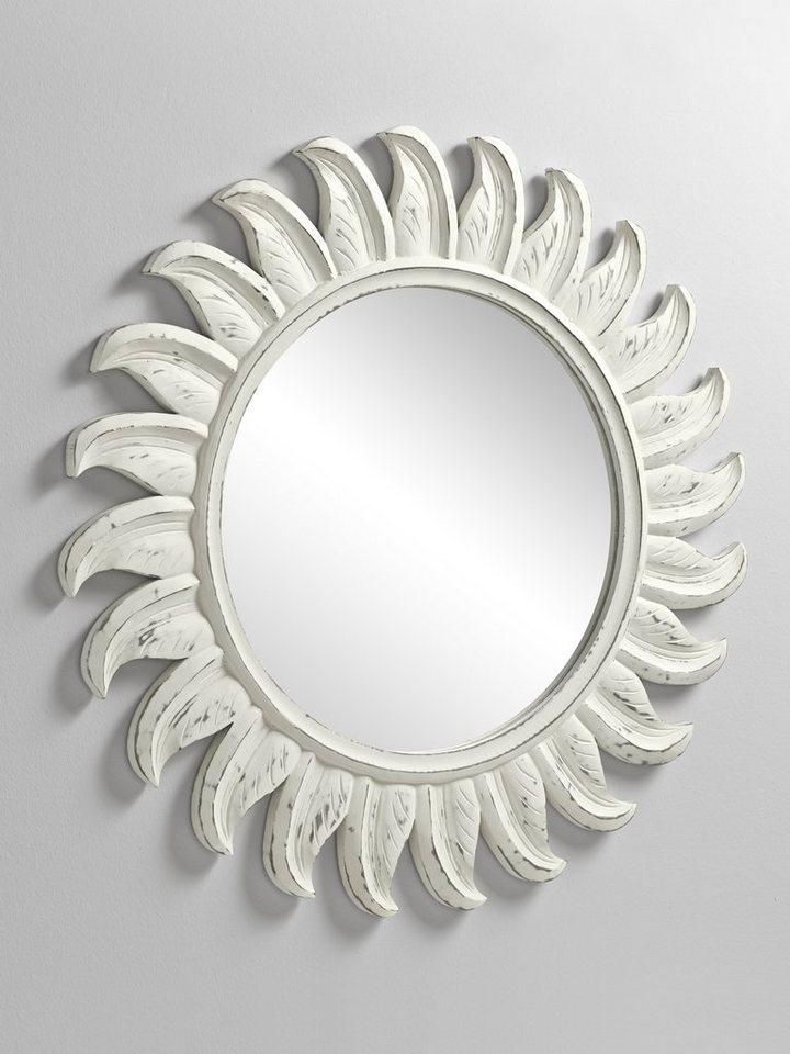 Spiegel in weiß