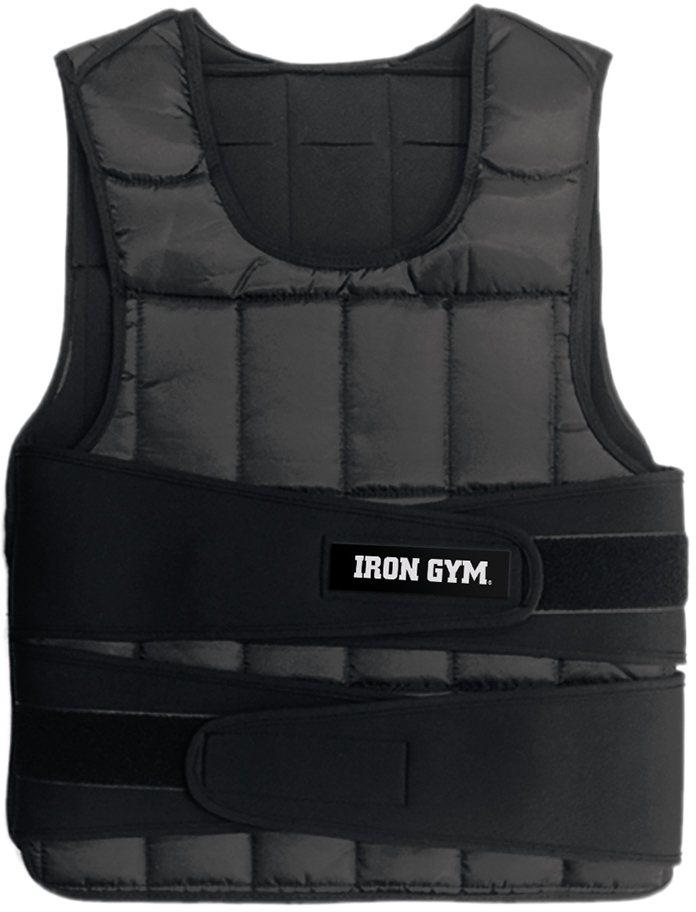 IRON GYM Gewichtsweste in schwarz