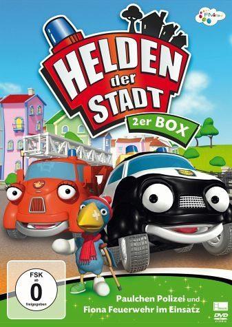 DVD »Helden der Stadt - Paulchen Polizei und Fiona...«