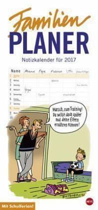 Kalender »Butschkow Familienplaner - Kalender 2017«