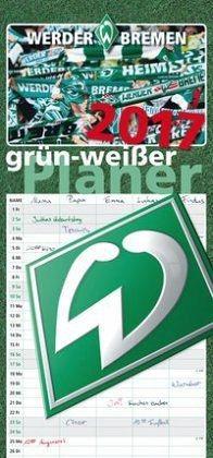 Kalender »grün-weißer Planer 2017«