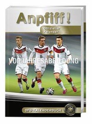 Kalender »DFB Anpfiff 2017 17-Monats-Kalenderbuch A6«