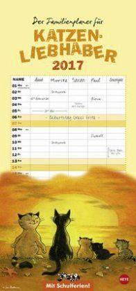 Kalender »Kater Jacob Familienplaner 2017«