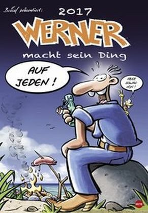 Kalender »Werner Posterkalender 2017«