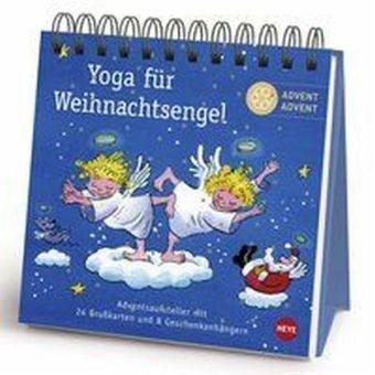 Broschiertes Buch »Yoga für Weihnachtsengel Adventsaufsteller...«