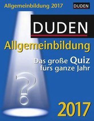 Kalender »Duden Allgemeinbildung 2017«