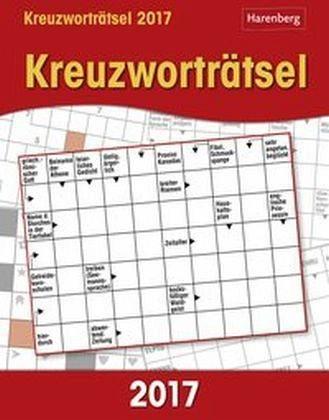 Kalender »Kreuzworträtsel 2017 Wissenskalender«