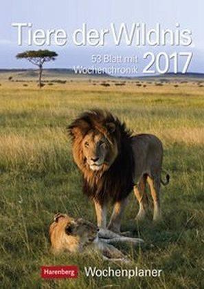 Kalender »Tiere der Wildnis 2017 Wochenplaner«