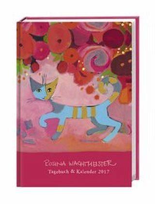 Kalender »Rosina Wachtmeister Kalenderbuch A6 2017«