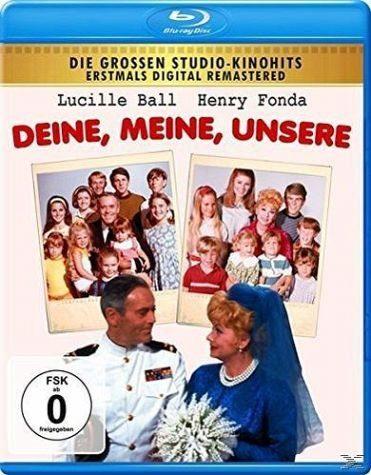 Blu-ray »Deine, Meine, Unsere Digital Remastered«