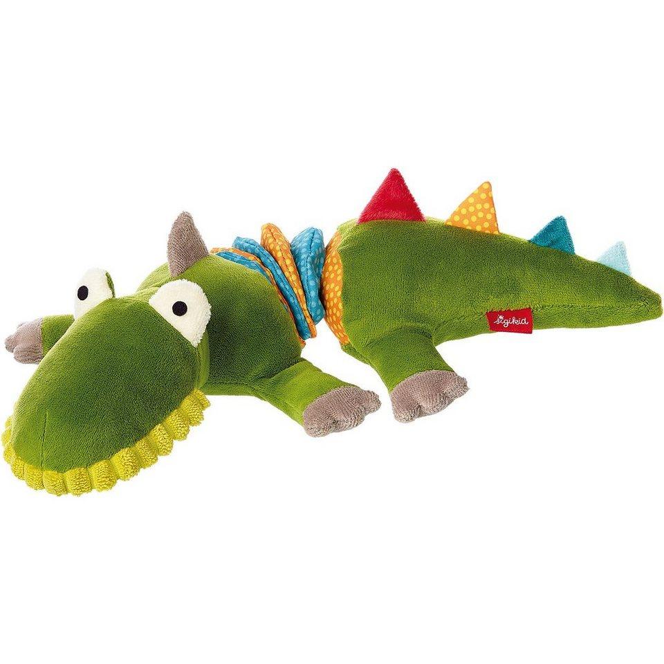 sigikid Vibrationsrassel Krokodil, Crocodile's Friends