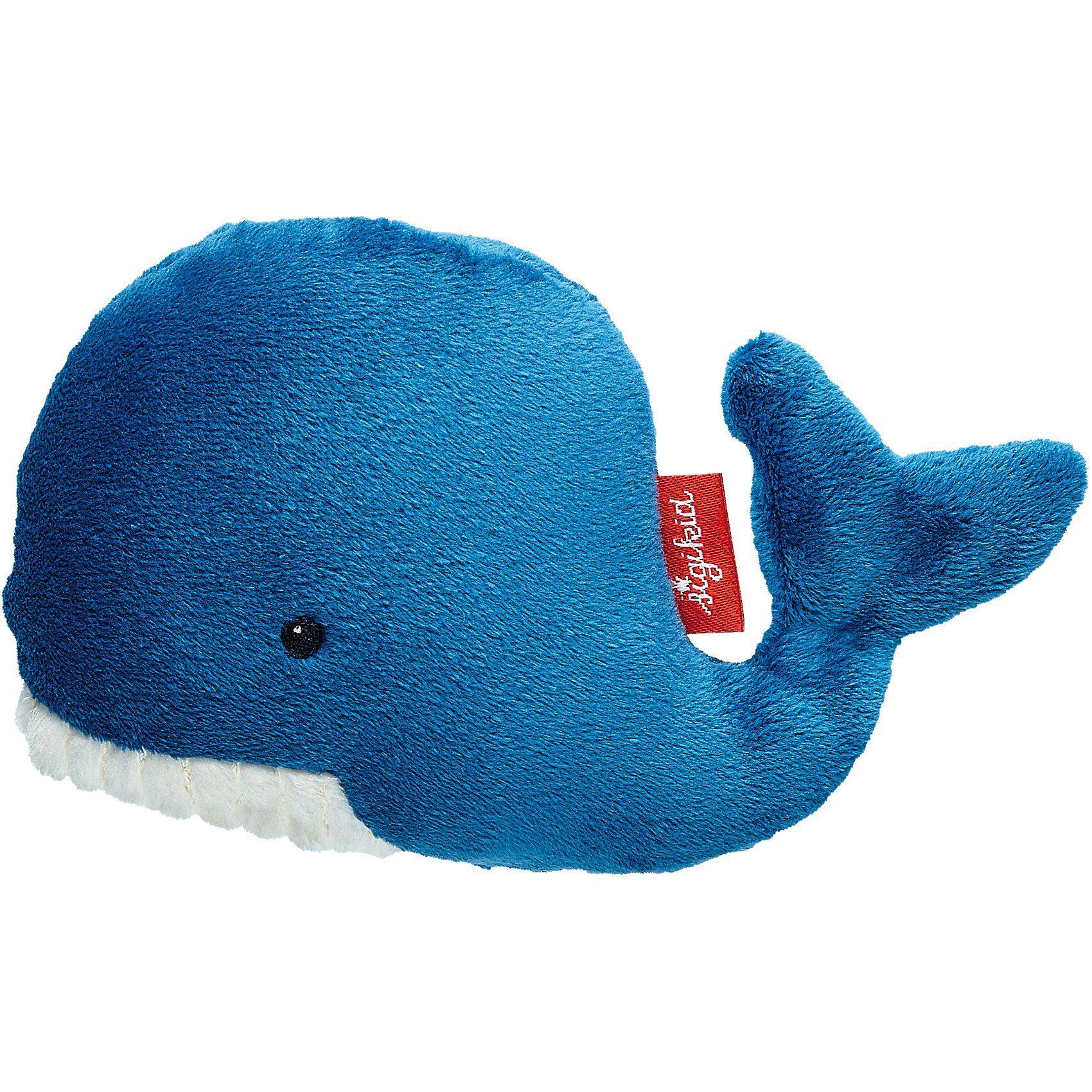 sigikid Mini-Greifling Wal, Wasser Tiere