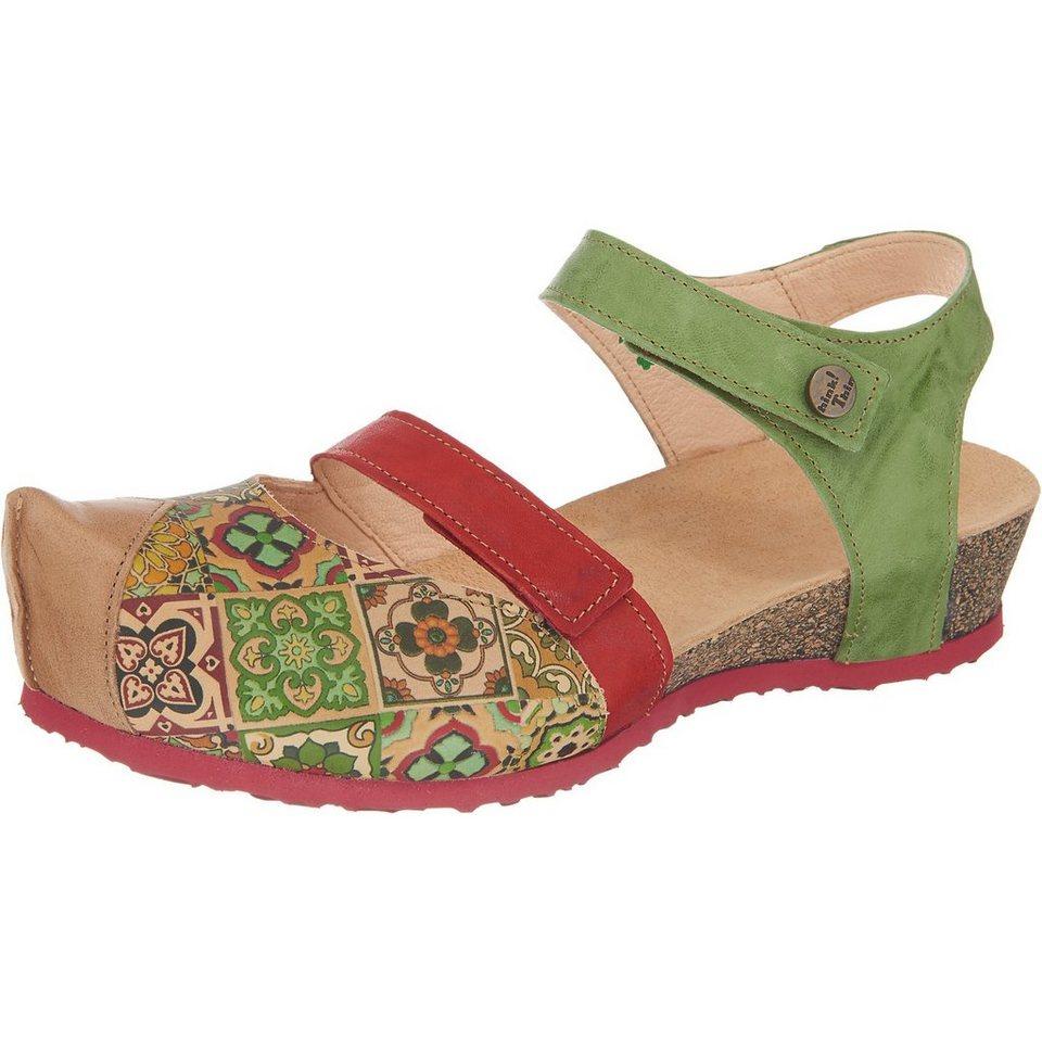 Think! Kessy Sandaletten in grün-kombi