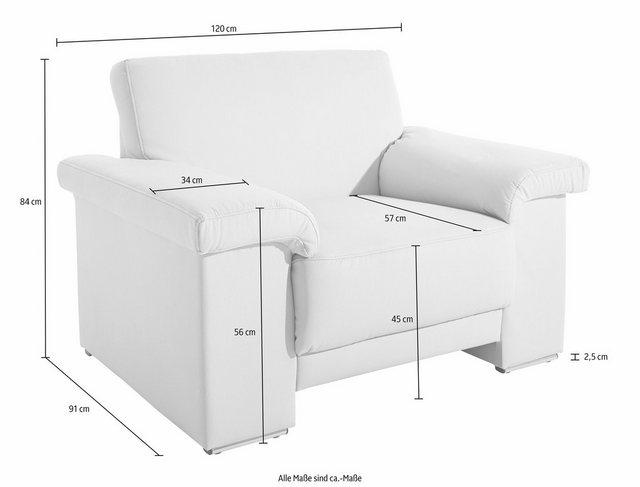 Sessel und Hocker - DOMO collection Sessel, mit Federkern  - Onlineshop OTTO